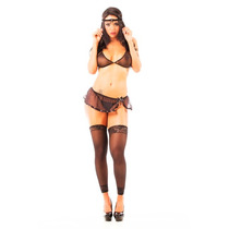 Mini Fantasia Viúva Negra Il - Pimenta Sexy - Sensuais, Sexy