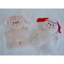 Travesseiros De Pelúcia Em Forma De Cachorrinhos Dos Anos 80