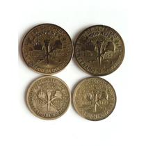 Moeda Antiga 500 E 100 Réis Centenário Independência 1922