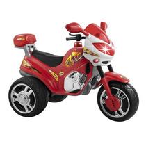 Moto Elétrica Super Moto Bombeiro 12v - Magic Toys