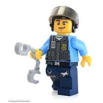 Lego Minifiguras - Elite Policial - 100% Lego