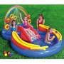Piscina Inflável Infantil Playground Arco-íris 246 Lts Intex