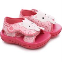 Sandalia Papete Fisher Price Rosa - Grendene Kids