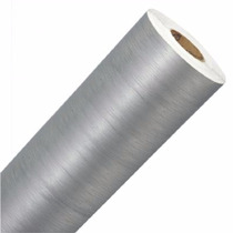Adesivo Aço Escovado Inox P/ Geladeira Moveis E Carros