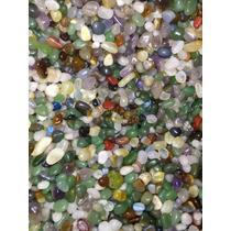 Pedras Rolada Mista 1 Kg Semi Preciosas 2 Cm Atacado