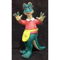 Família Dinossauro Fran Sauro Boneco Disney Antigo 15,5cm