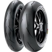 Combo Pneu Pirelli Supercorsa Sp V2 120/70-17 + 200/55-17