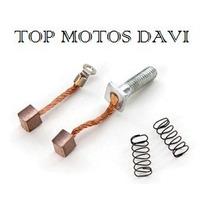 Escovas Motor Partida Moto Honda Cg 150 Fan 09