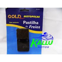 Pastilha De Freio Cbx 200 Strada Dianteira Gold Kallu Motos