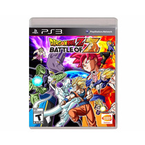 Dragon Ball Z Battle Of Z Ps3 Mídia Física - Lacrado