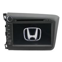 Central Kit Multimidia Dvd Honda Civic (12-13) C/ Tv Digital