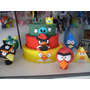 Kit Para Festa Infantil Angry Birds Em Eva 3d