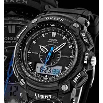 Relógio Pulso Ohsen Analógico - Digital Esportivo Mergulho