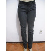 Calça Jeans Preta Tam 40 Detalhes Lantejoulas Bom Estado