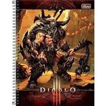 Caderno Universitário Jogo Diablo Tilibra 1 Matéria 96 Fls