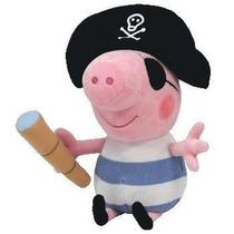 George Da Peppa Pig Pirata 28cm Pronta Entrega Grátis Brinde