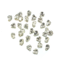 Lotes Pedras Preciosas 32 Zircônias Brancas J14453