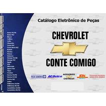 Catálogo De Peças Chevrolet (carros, Utilitários,caminhões)