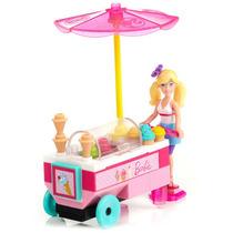 Microbloks - Barbie - Sorveteria - Mega Bloks