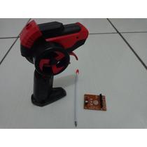 Kit Controle+receptor+antena Carrinho Vulcan Candide Garagem