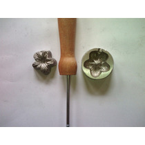 Frisador De Flor Em Alumínio - Esporinha Ou Flor Do Campo