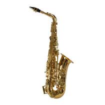 Saxofone Shelter Alto Sgft6430l Laqueado Dourado