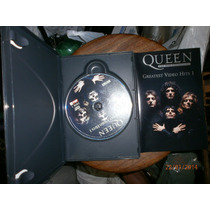 Dvd Queen - Greatest Video Hits 1 - 2 Dvds Seminovo Em Otimo