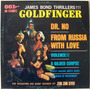 James Bond Thrillers - Goldfinger, Dr. No, Moscou Ct 007 Lp*