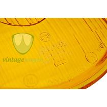 Lente De Farol Fusca Split Oval Amarelo Bosch - Vintagewagen