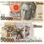 Cédula De Cinquenta Mil Cruzeiros,flor De Estampa