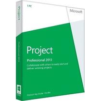 Projetc Professional 2013 Original Português Brasil 32/64bit