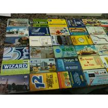 118 - Mega Lote C/60 Cartões Telefônicos - Mídias