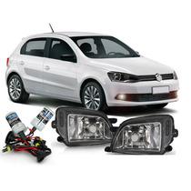 Combo Kit Farol Auxiliar Milha Volkswagen Gol G6 + Kit Xenon