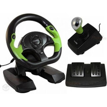 Volante Xbox 360 Pc Dual Shock Need For Speed Gta Forza Grid