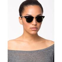Oculos De Sol Ray Ban Clubmaster Rb3016 Frete Gratis +brinde