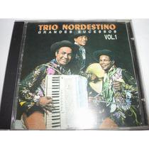 Cd Trio Nordestino Grandes Sucessos Vol. 01 1994 Ed. Rara