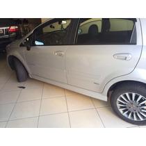 Spoiler Lateral Esportivo Fiat Punto Prata Ou Preto Cetim