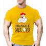 Camiseta Camisa Frango É Meu Ovo Musculação Fitness Malhar