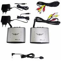 Transmissor Receptor Video Audio Tv Wireless Av Sem Fio