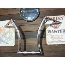 Guidão Harley Davidsoni 1.1/4 Com Reducao Para 1 Wingscustom
