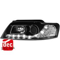 Tuning Imports Par D Farol Projector Drl R8 Bk Audi A4 02/04