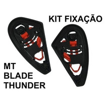 Kit De Fixação Viseira Reparo Capacete Mt Thunder Blade