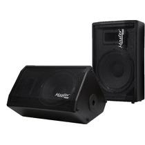 Kit Monitor Retorno Ativo+ Passivo 320w Rms M12 Master Áudio