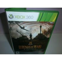 History Legends Of War Patton - Xbox 360 - Frete R$ 9,99