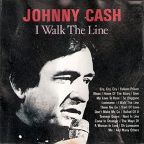 Cd Johnny Cash - I Walk The Line - Novo Sem Uso Frete 6,00