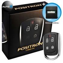 Alarme Automotivo Pósitron Cyber Px330 Com Modulo De Vidro