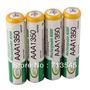 4 Pilha Aaa Recarregável 1350mah 1,2v Nimh Bateria Sanyo