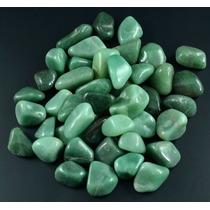 1kg -pedras Roladas Quartzo Verde - Qvm