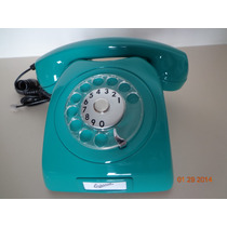 Telefone Azul Turquesa - Ericsson Original - De Disco