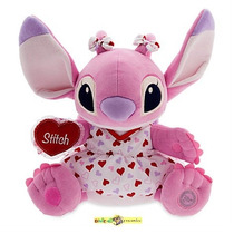 Stitch - Angel Pelucia 30 Centímetros Original Disney Store